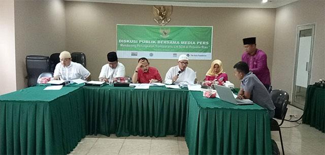 Terkait Informasi Publik, KIP Riau terbitkan enam Keputusan